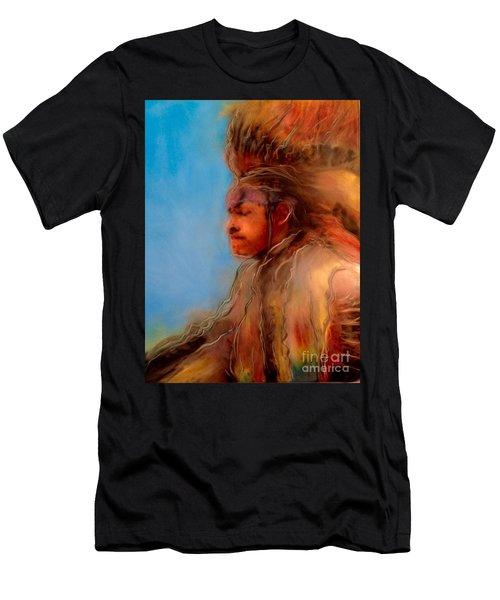 Wakantanka Maka Kin Kaye Men's T-Shirt (Athletic Fit)