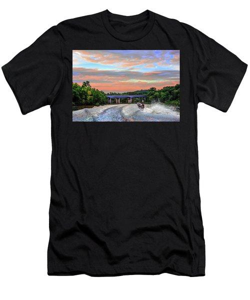 Wake Jumper  Men's T-Shirt (Athletic Fit)