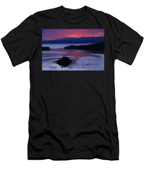 Wake Up In Lake Tahoe  Men's T-Shirt (Athletic Fit)