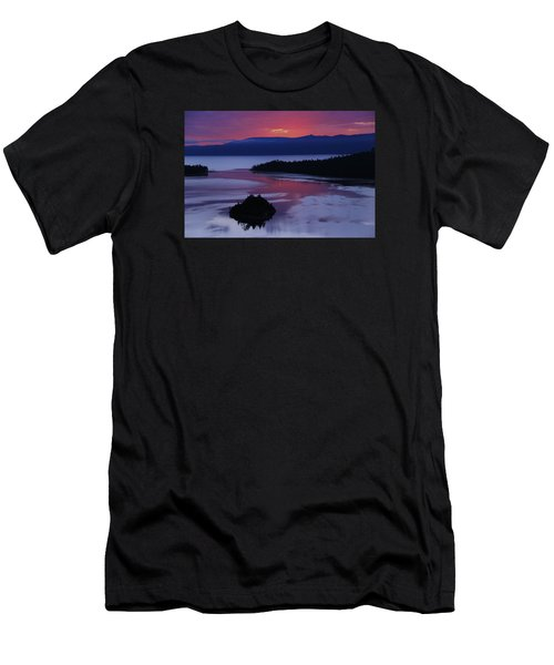 Men's T-Shirt (Athletic Fit) featuring the photograph Wake Up In Lake Tahoe  by Sean Sarsfield