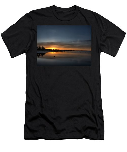 Waking To A Cold Sunrise Men's T-Shirt (Athletic Fit)