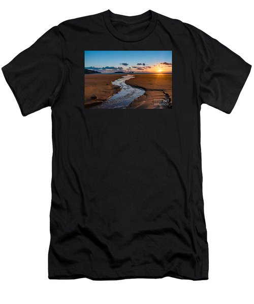 Wales Gower Coast Men's T-Shirt (Athletic Fit)