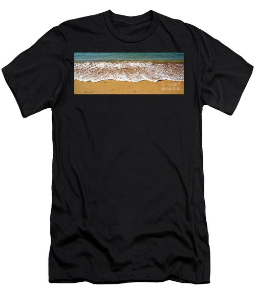 Walk Along The Foreshore By Kaye Menner Men's T-Shirt (Athletic Fit)