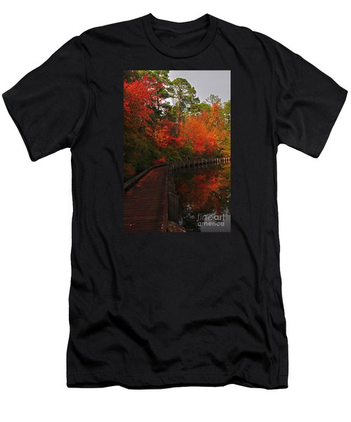 Walk Into Fall Men's T-Shirt (Athletic Fit)