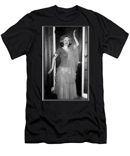 Men's T-Shirt (Athletic Fit) featuring the photograph Walk Like An Egyptian by Denise Fulmer