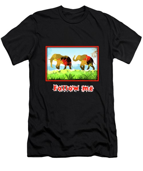 Walk With Me Men's T-Shirt (Athletic Fit)