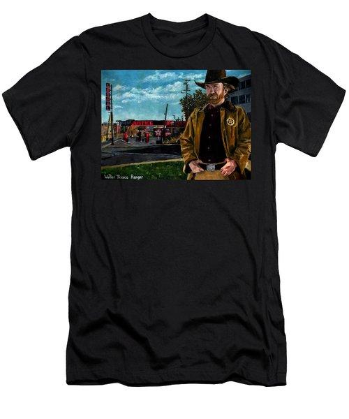 Walker Texaco Ranger Men's T-Shirt (Athletic Fit)