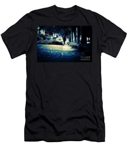 Walking A Lonely Path Men's T-Shirt (Athletic Fit)
