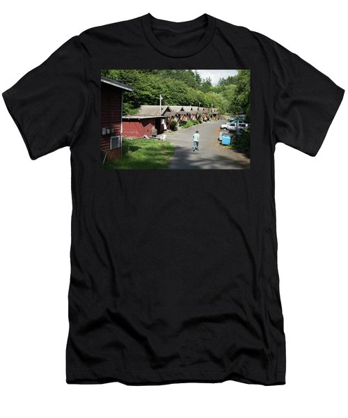 Walking Home Men's T-Shirt (Athletic Fit)