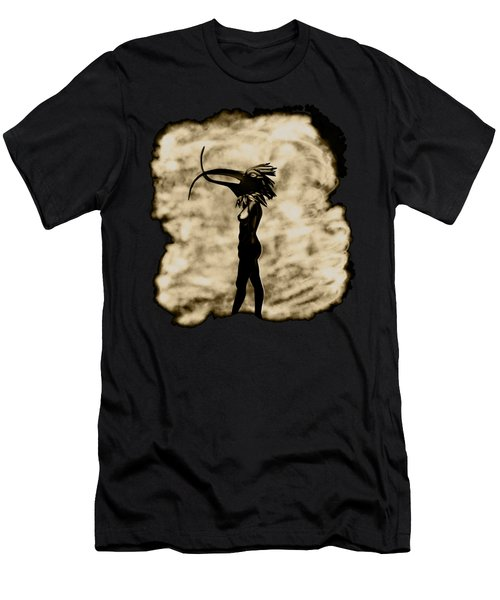 Walking In My Shoes 12inch Inside Men's T-Shirt (Athletic Fit)