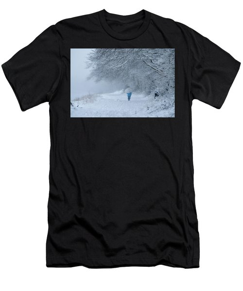 Walking In The Snow Men's T-Shirt (Athletic Fit)
