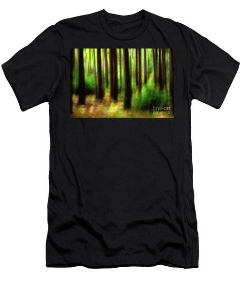 Walking In The Woods Men's T-Shirt (Athletic Fit)