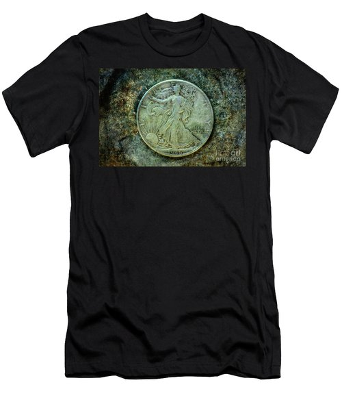 Walking Liberty Half Dollar Obverse Men's T-Shirt (Athletic Fit)