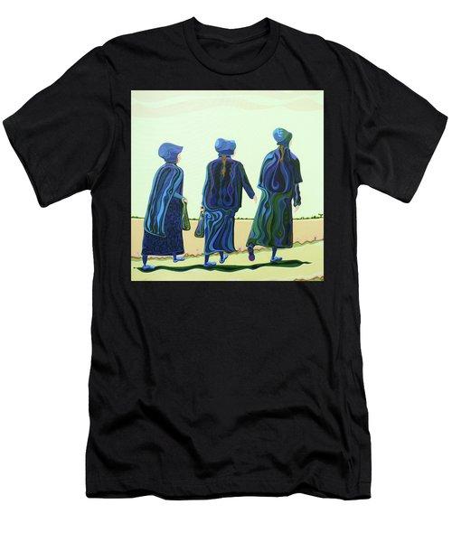 Walking The Walk Men's T-Shirt (Athletic Fit)