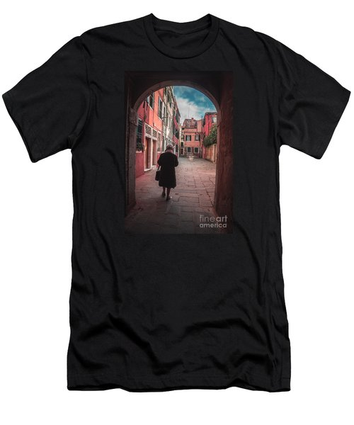 Walking Through Time - Venice, Italy Men's T-Shirt (Athletic Fit)