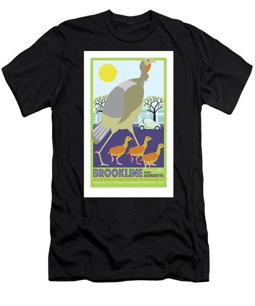 Walking Tours Men's T-Shirt (Athletic Fit)