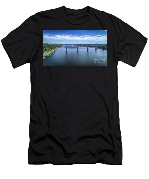 Walkway Over The Hudson Men's T-Shirt (Athletic Fit)