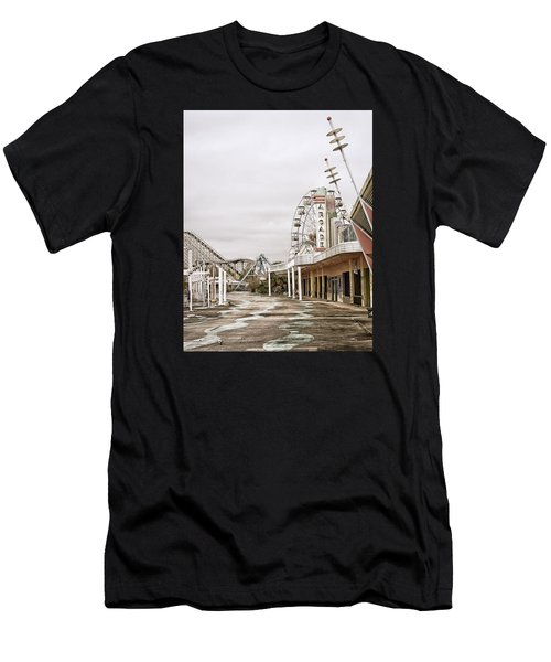 Walkway To The Arcade Men's T-Shirt (Athletic Fit)