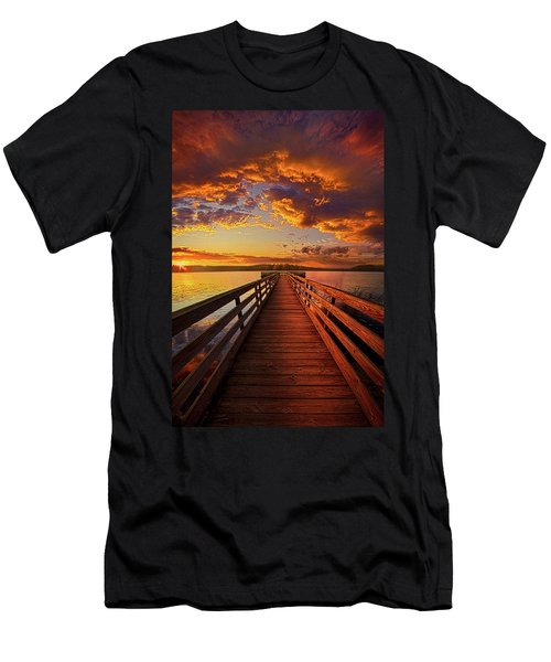 Walkyn Skywyrd Men's T-Shirt (Athletic Fit)
