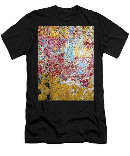 Wall Abstract 123 Men's T-Shirt (Athletic Fit)