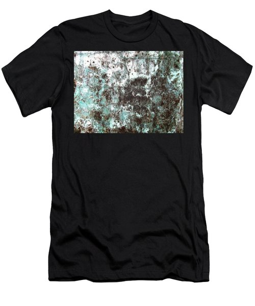 Wall Abstract 173 Men's T-Shirt (Athletic Fit)
