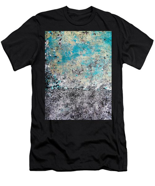 Wall Abstract 174 Men's T-Shirt (Athletic Fit)