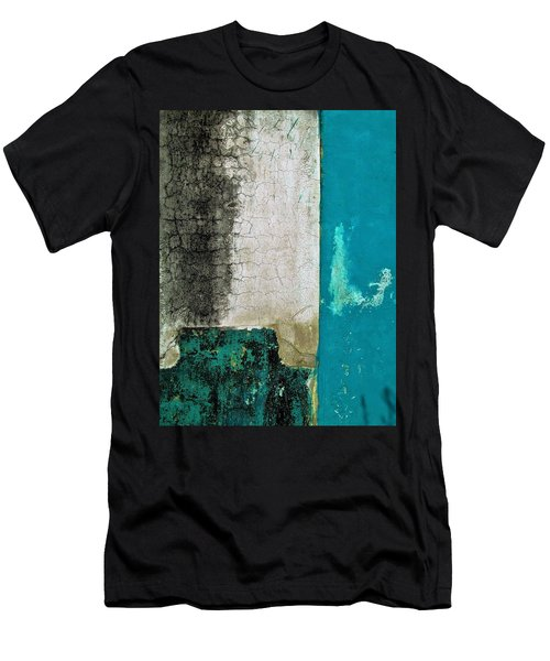 Wall Abstract 296 Men's T-Shirt (Athletic Fit)