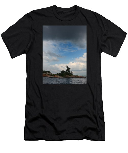 Wall Island 3623 Dramatic Sky Men's T-Shirt (Athletic Fit)