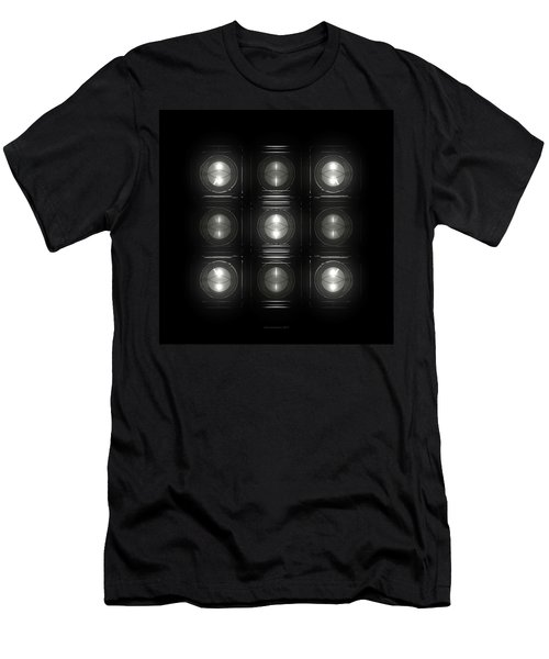 Wall Of Roundels 3x3 Men's T-Shirt (Athletic Fit)