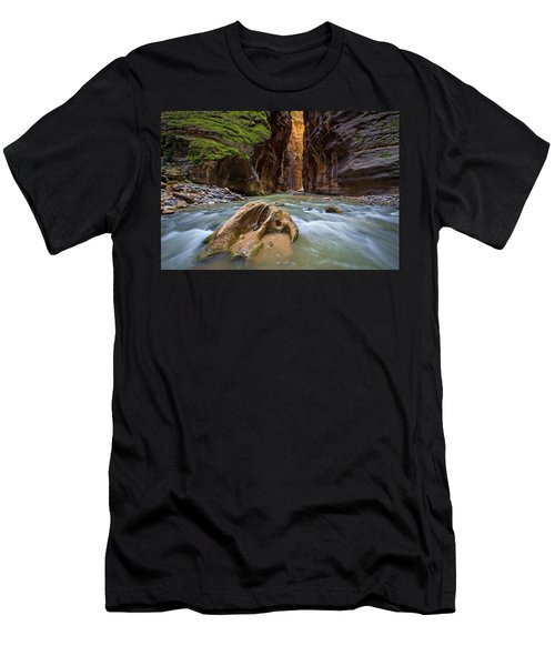 Wall Street Of The Narrows Men's T-Shirt (Athletic Fit)