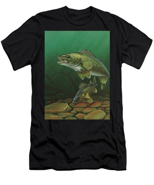 Walleye Men's T-Shirt (Athletic Fit)