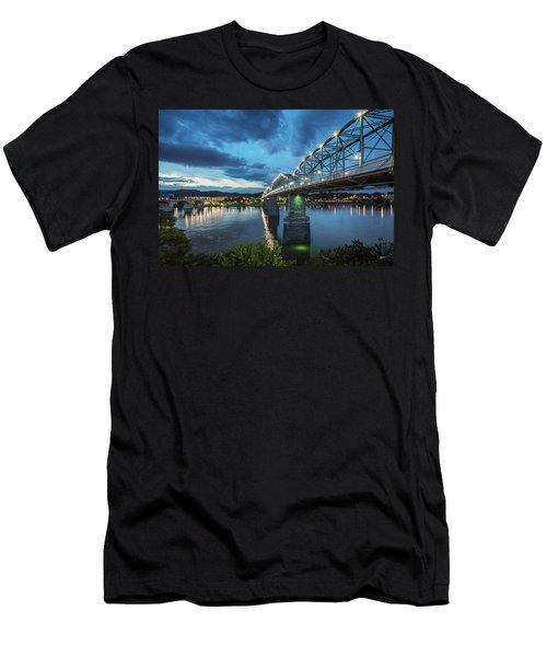 Walnut At Night Men's T-Shirt (Athletic Fit)