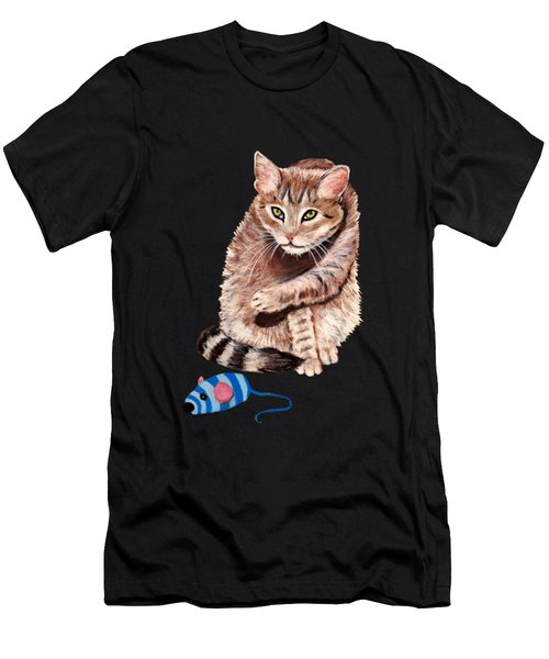 Want To Play Men's T-Shirt (Athletic Fit)