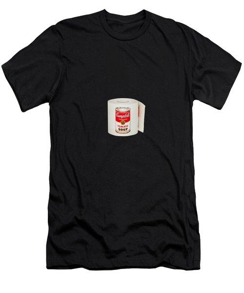 War Roll - Poop Art Men's T-Shirt (Athletic Fit)