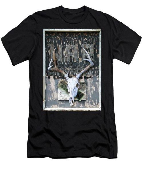 War Skull Men's T-Shirt (Athletic Fit)