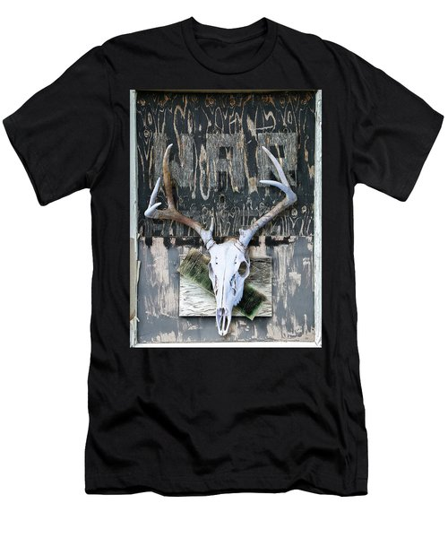 War Skull Men's T-Shirt (Athletic Fit)