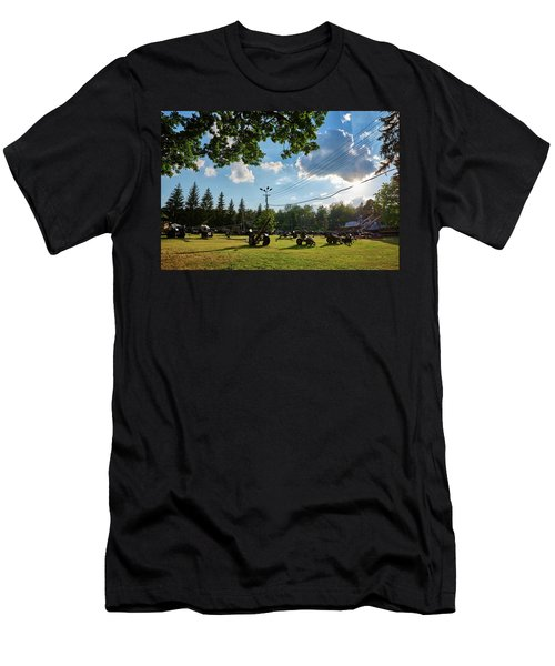 Men's T-Shirt (Athletic Fit) featuring the photograph WAR by Tgchan