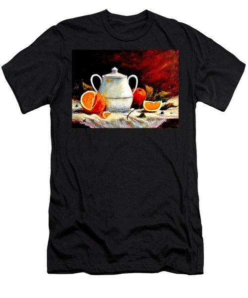 Warm Light Men's T-Shirt (Athletic Fit)