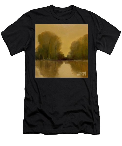 Men's T-Shirt (Athletic Fit) featuring the painting Warm Morning by Michelle Abrams