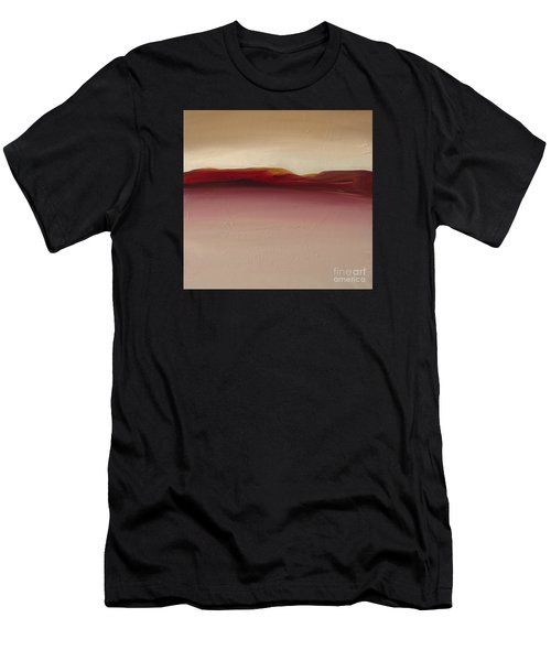 Men's T-Shirt (Athletic Fit) featuring the painting Warm Mountains by Michelle Abrams