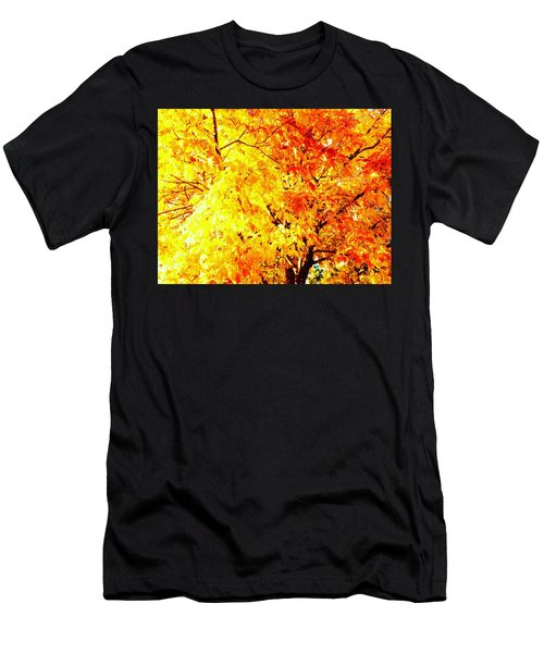 Warmth Of Fall Men's T-Shirt (Athletic Fit)