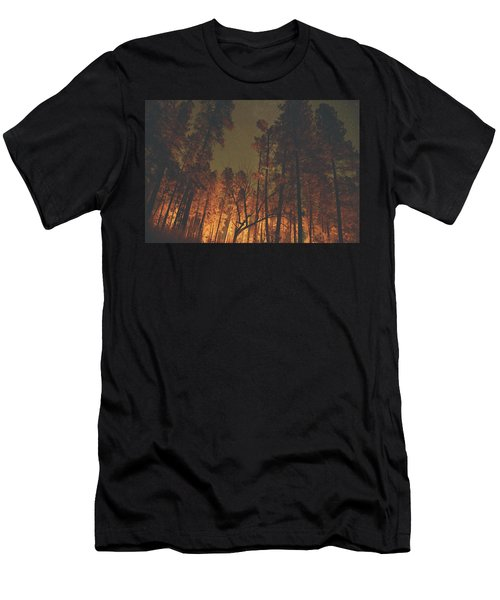 Warmth Of Trees And Stars Men's T-Shirt (Athletic Fit)