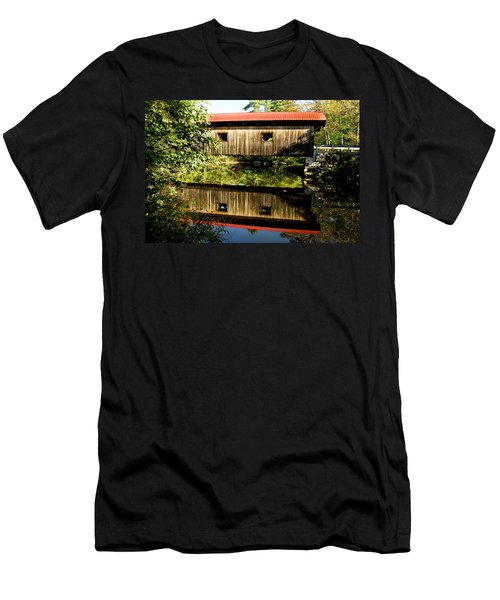 Warner Covered Bridge Men's T-Shirt (Athletic Fit)