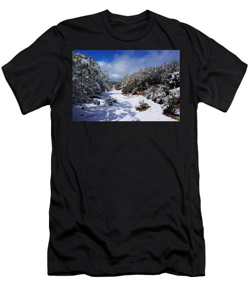 Warner Springs Snow Men's T-Shirt (Athletic Fit)