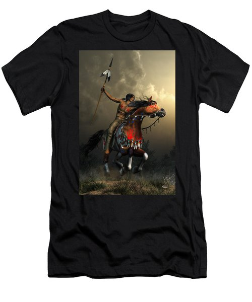 Warriors Of The Plains Men's T-Shirt (Athletic Fit)