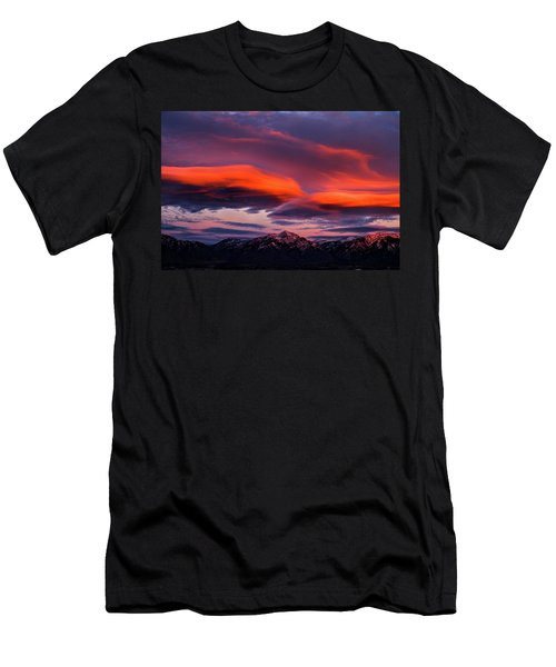Wasatch Sunrise II Men's T-Shirt (Athletic Fit)