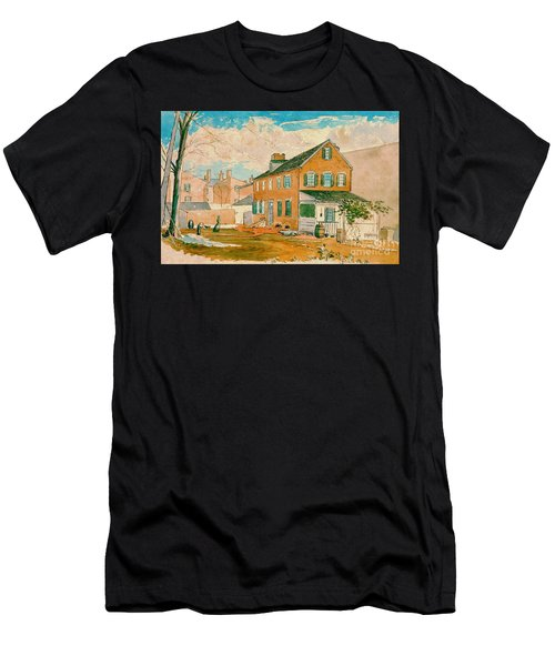 Washington D.c. Square 1874 Men's T-Shirt (Athletic Fit)
