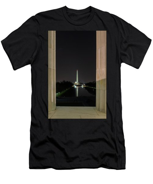 Washington Monument 2 Men's T-Shirt (Athletic Fit)