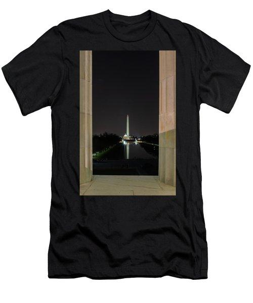 Washington Monument 2 Men's T-Shirt (Athletic Fit)