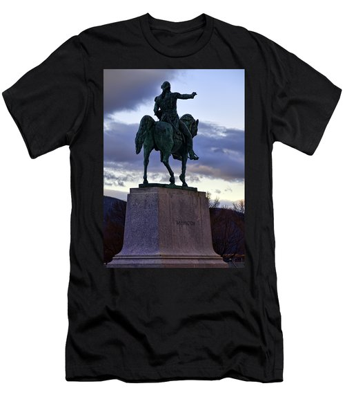 Washington Monument At West Point Men's T-Shirt (Athletic Fit)